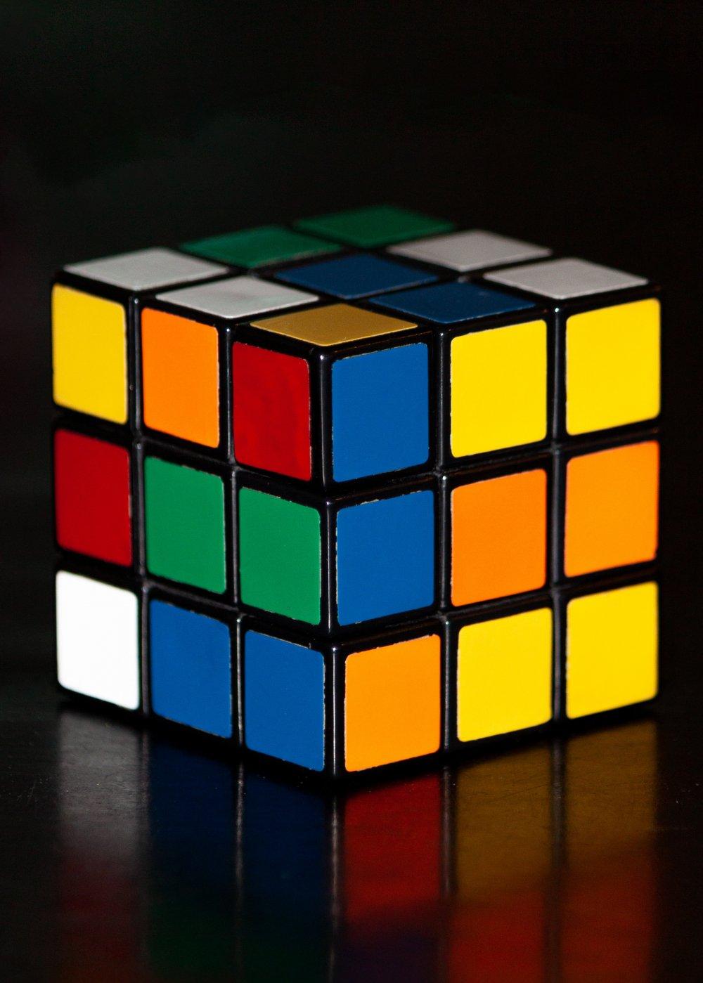 Vem kan lösa Rubiks kub?